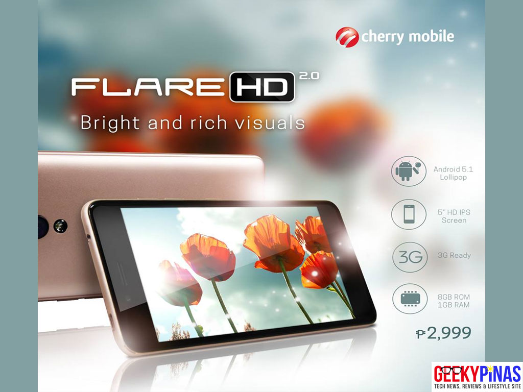 Cherry Mobile Flare HD 2.0