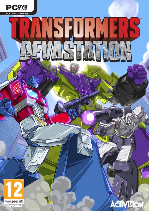 Transformers Devastation Download Cover Free Game