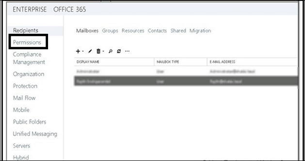 Export Exchange 2010 Mailbox to PST Outlook via EAC