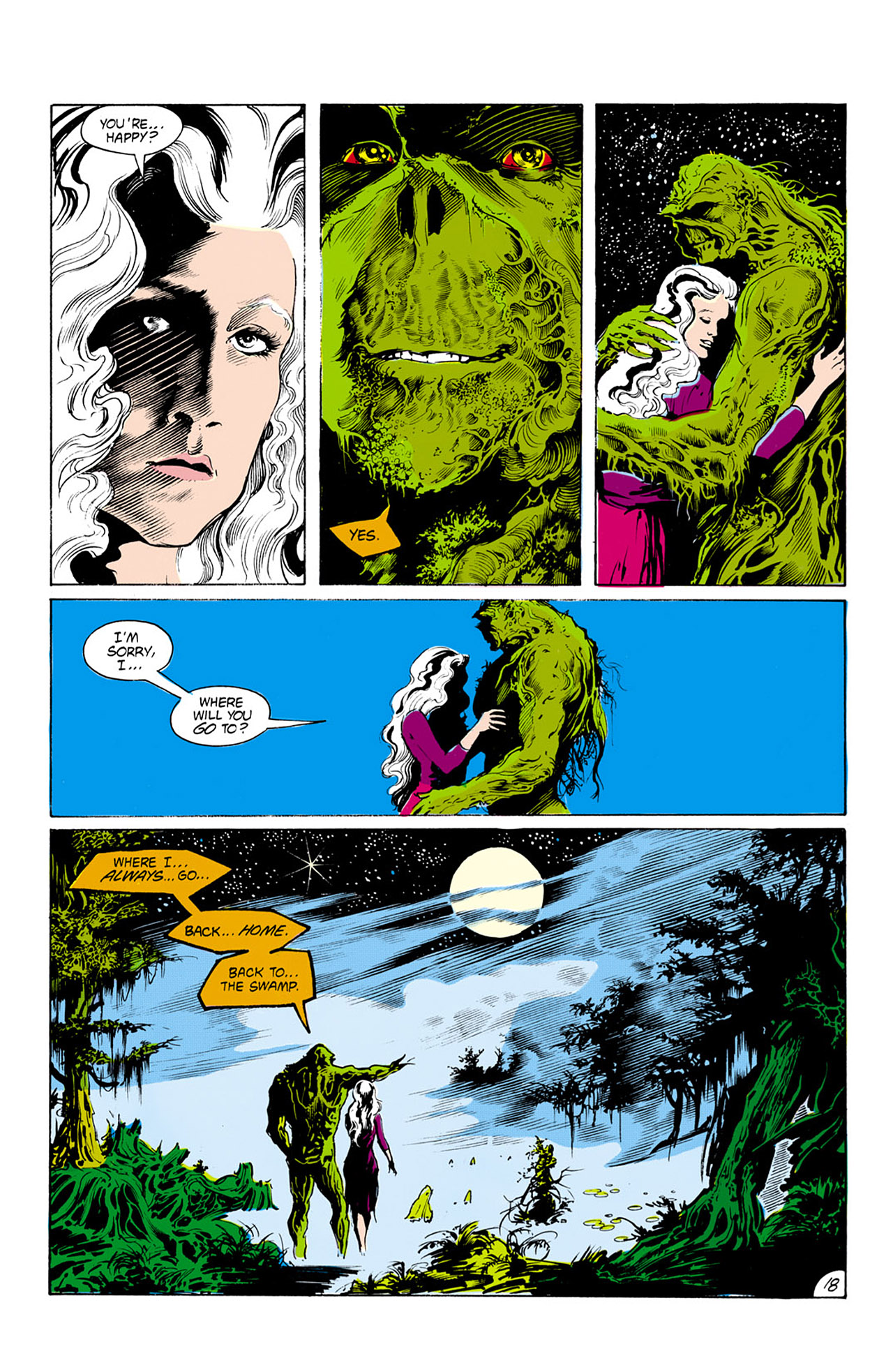 Swamp Thing (1982) Issue #24 #32 - English 19