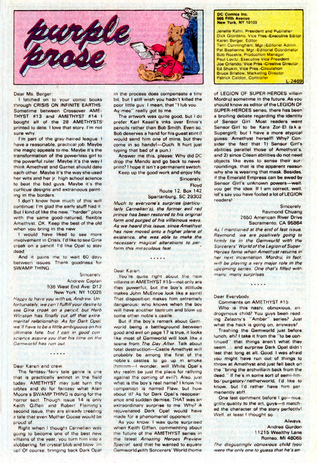 Read online Amethyst (1985) comic -  Issue # _Special 1 - 31