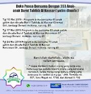 Berbagi Mukena Dan Sarung Untuk 203 Anak anak Darul Tahfidz Al Kausar