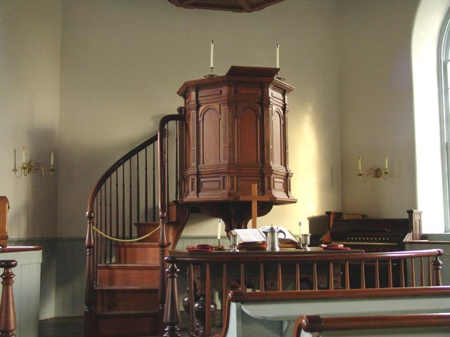 Architecture + Morality: Stay in the Pulpit! When the
