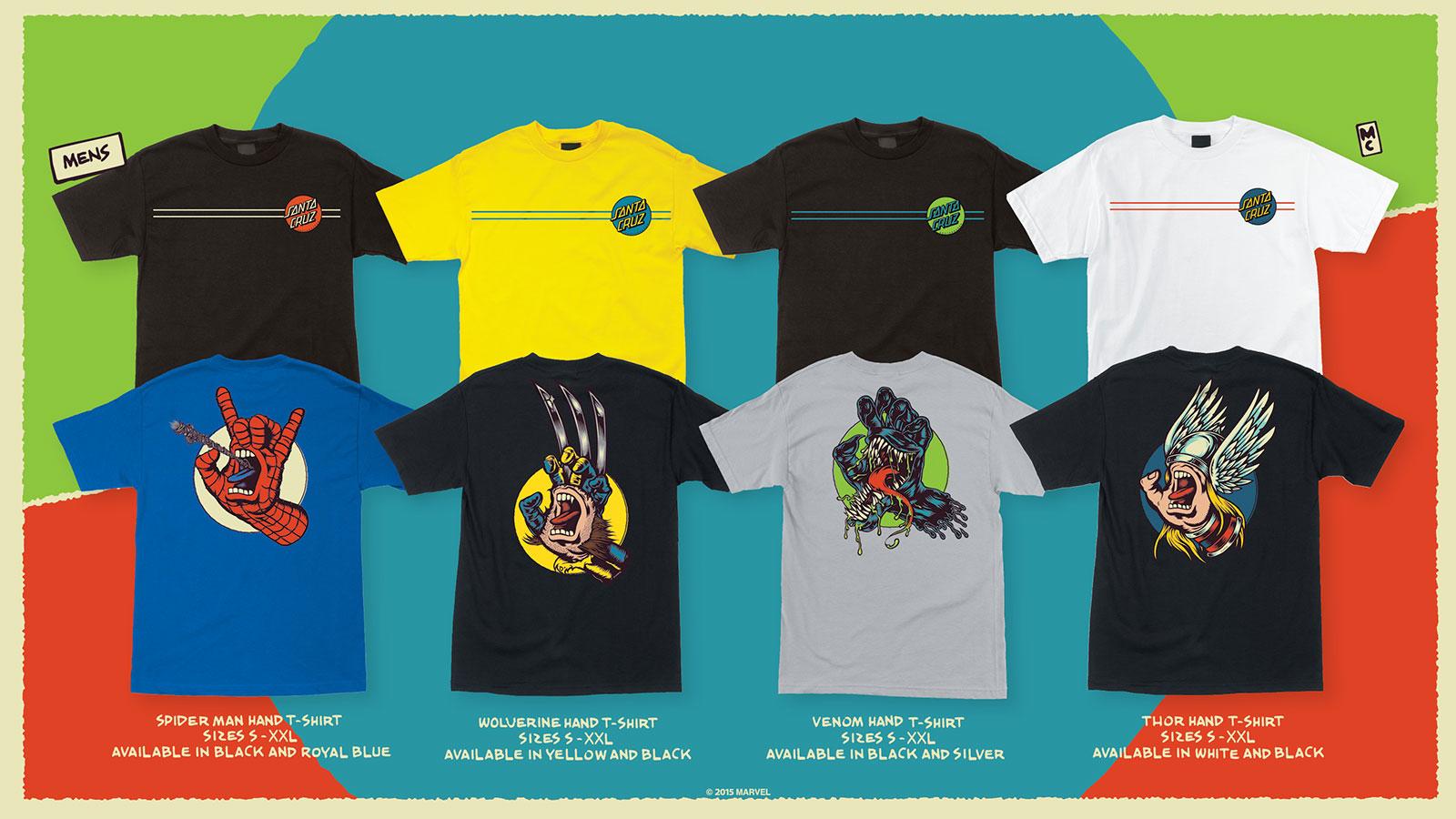 866e98866 Marvel Comics The Screaming Hand T-Shirt Collection by Santa Cruz