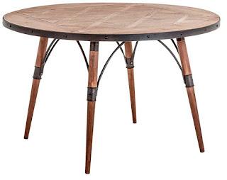 mesa rustica de forja rendoda