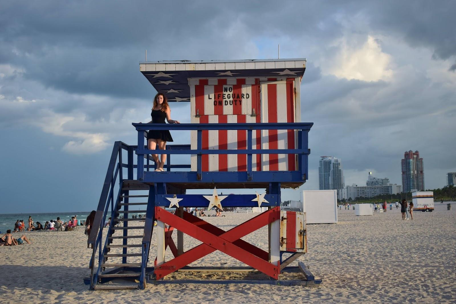 Lifeguard house Miami