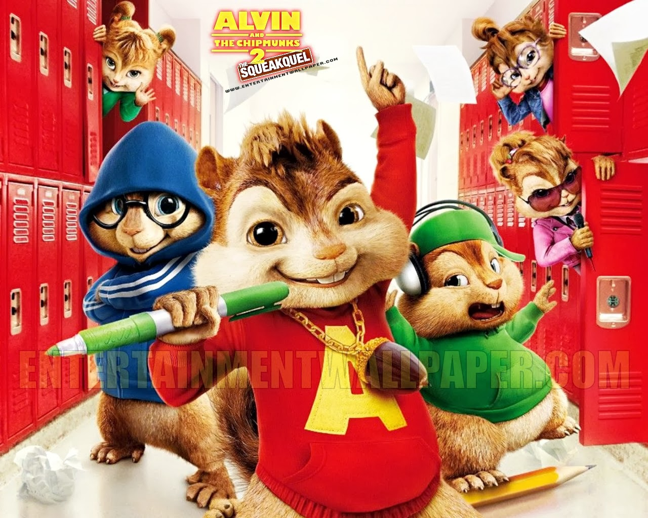 Best Cartoon 4 U Alvin And The Chipmunks Hd Wallpaper