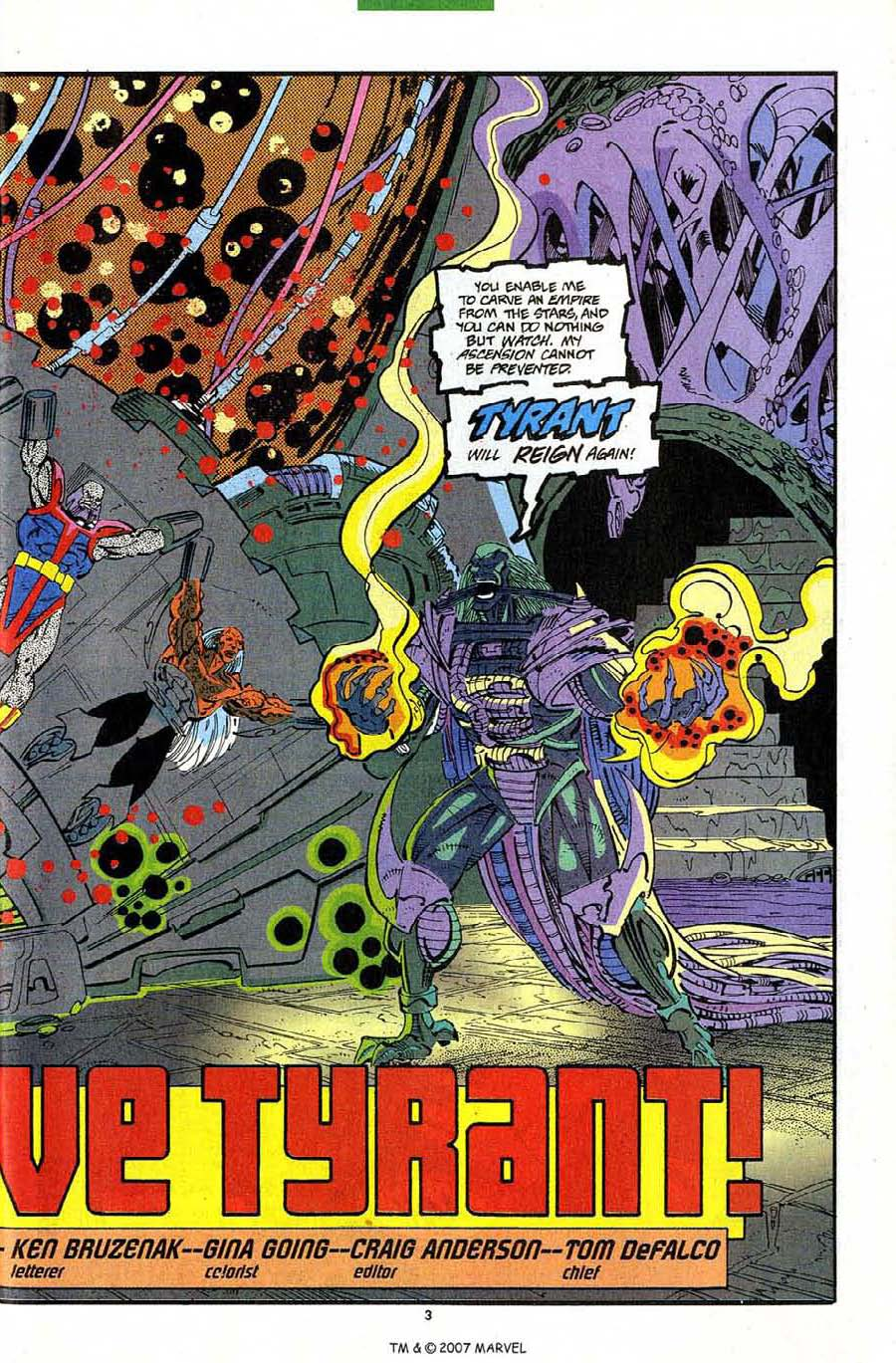 Read online Silver Surfer (1987) comic -  Issue #82 - 5