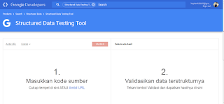 data terstruktur google