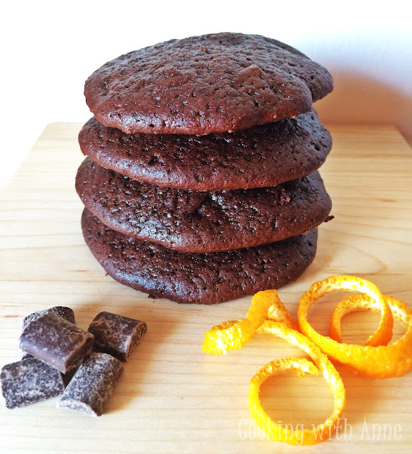 Chocolate Chunk Orange and Gingerbread Spiced Cookies