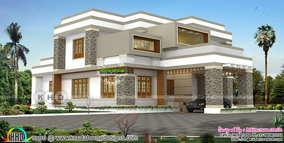 Modern and stylish 4 bedroom house design