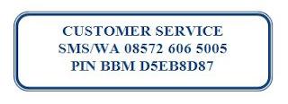 Customer Service Melayani sepenuh hati