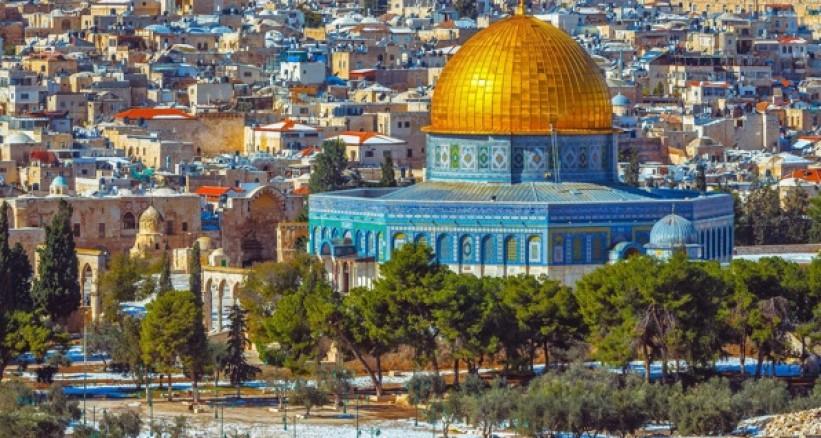 مسيرة حاشدة في مدينة القدس تندد بقرار ترامب