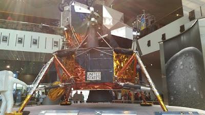 Módulo del Apolo 11 que llegó a la Luna