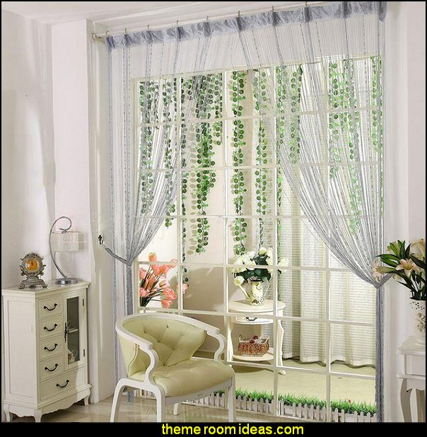 Beaded Door String Curtain Fringe