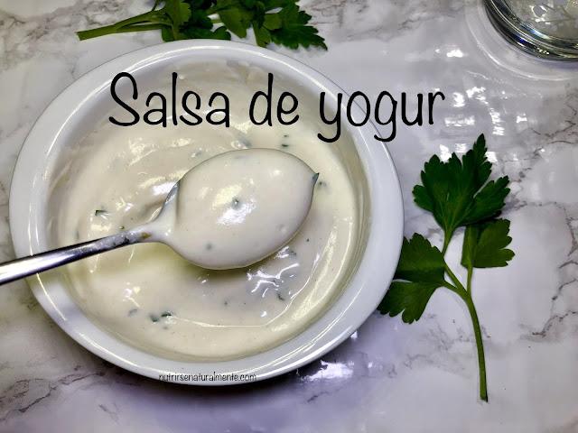 salsa de yogur vegana para falafel
