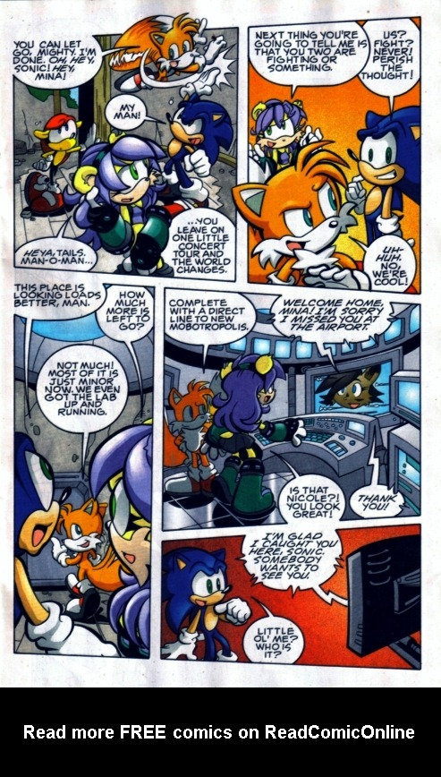 Read online Sonic The Hedgehog comic -  Issue #185 - 6