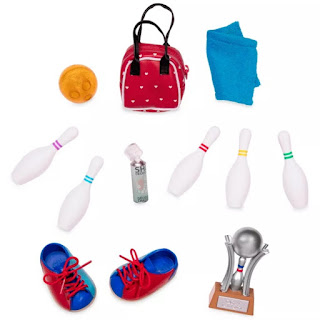 Our Generation Let It Roll - Retro Bowling Accessories Set