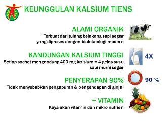 Tiens Nutrient High Calcium / Kalsium Tianshi