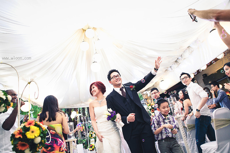 top garden wedding in Malaysia