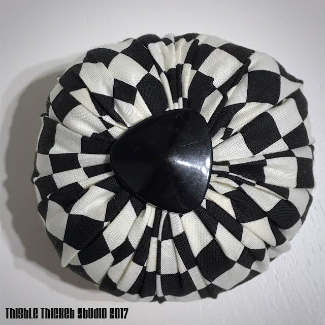 Pincushion Poof by Thistle Thicket Studio. www.thistlethicketstudio.com