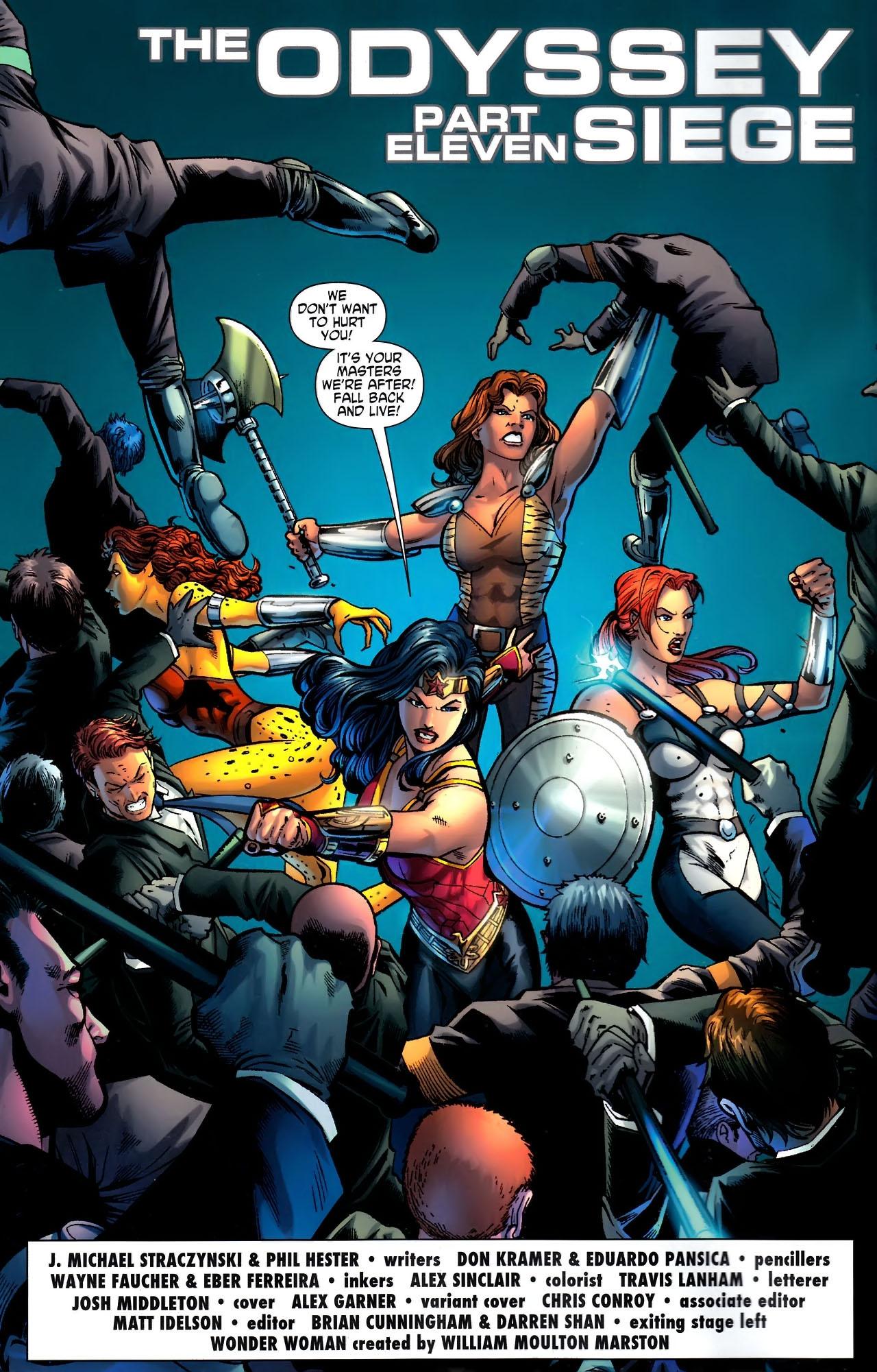 Read online Wonder Woman (2006) comic -  Issue #611 - 5