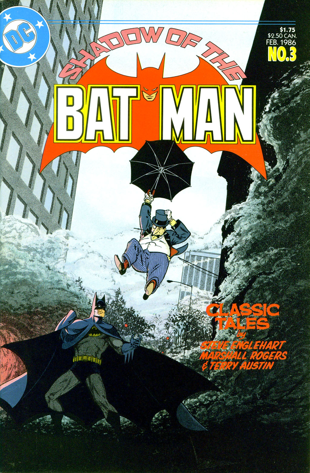 Read online Shadow of the Batman comic -  Issue #3 - 1