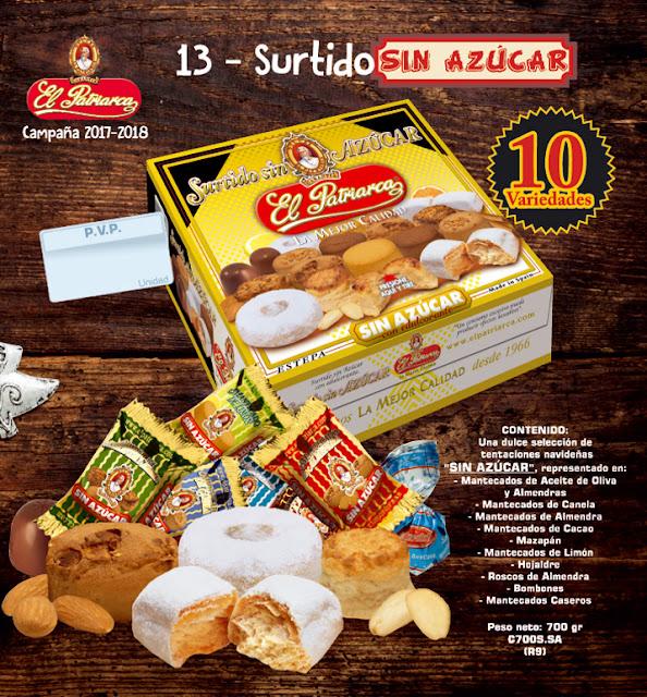 Surtido Sin Azúcar El Patriarca 700 g - Comercial H Martín sa