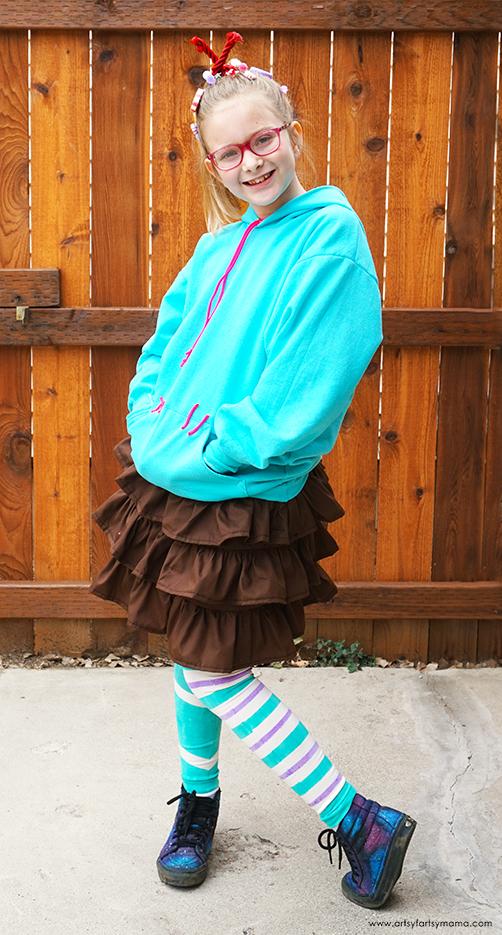 DIY Vanellope von Schweetz Costume