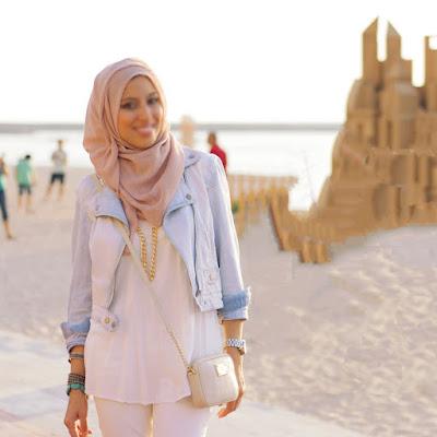 gaya jilbab terbaru