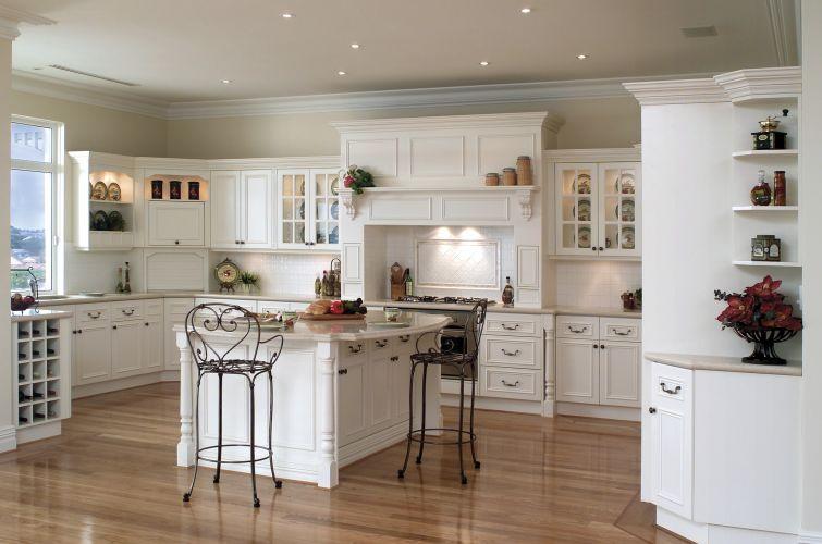 Decoration For The u . S . ~ Medium Interior Design - Classic Country Kitchen