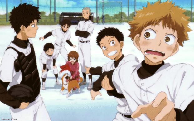 Ookiku Furikabutte - Daftar Anime Sport terbaik Sepanjang Masa