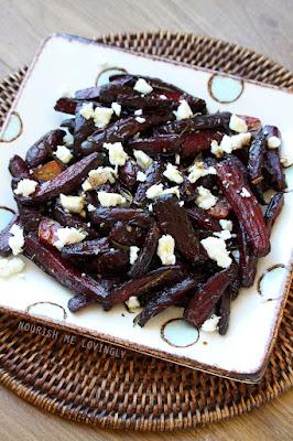 Balsamic beetroot roast side salad