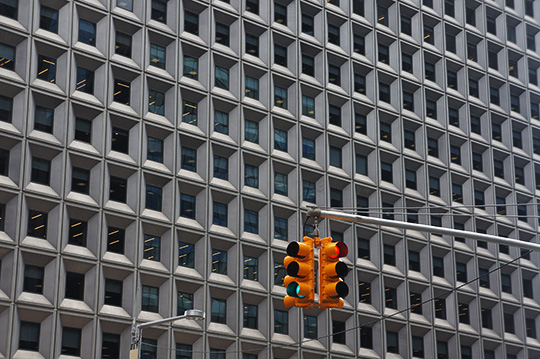 new york, urban photography, street photo, traffic light, architecture, travel photography, Sam Freek, USA, America,