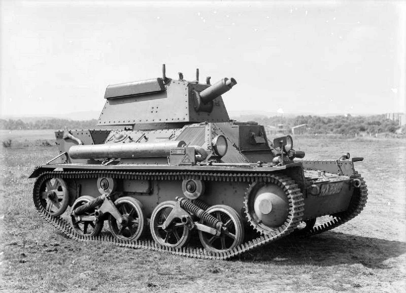 World War Ii Pictures In Details Vickers Light Tank Mark Iii