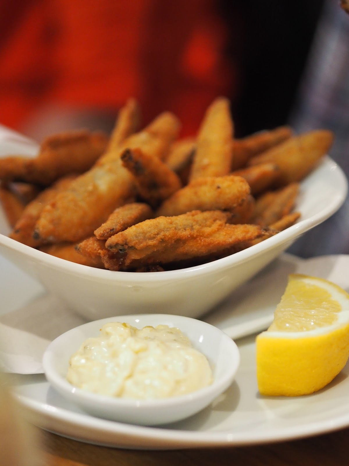 Deep Fried White Bait