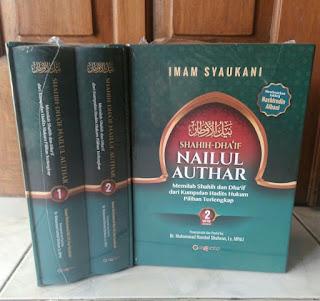 Buku terjemahan shahih-dha'if NaiLuL Authar