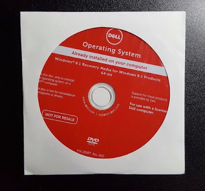 Laptop Original Operating System Factory Restore From