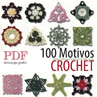 100 patrones de motivos crochet