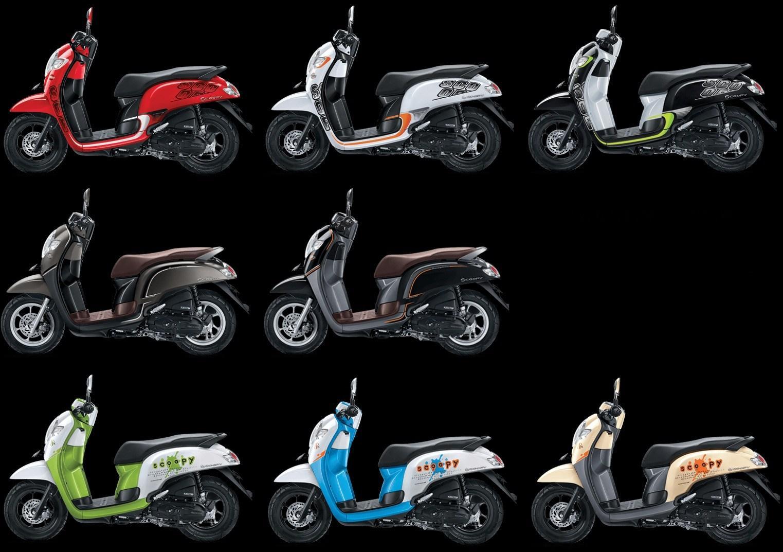 Kredit Motor Honda Scoopy Terbaru 2017 Paling Murah Di