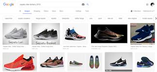 Sepatu nike terbaru 2019 di hasil pencarian google