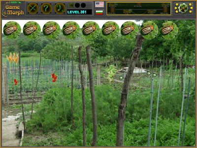 Crop Pests Development screen