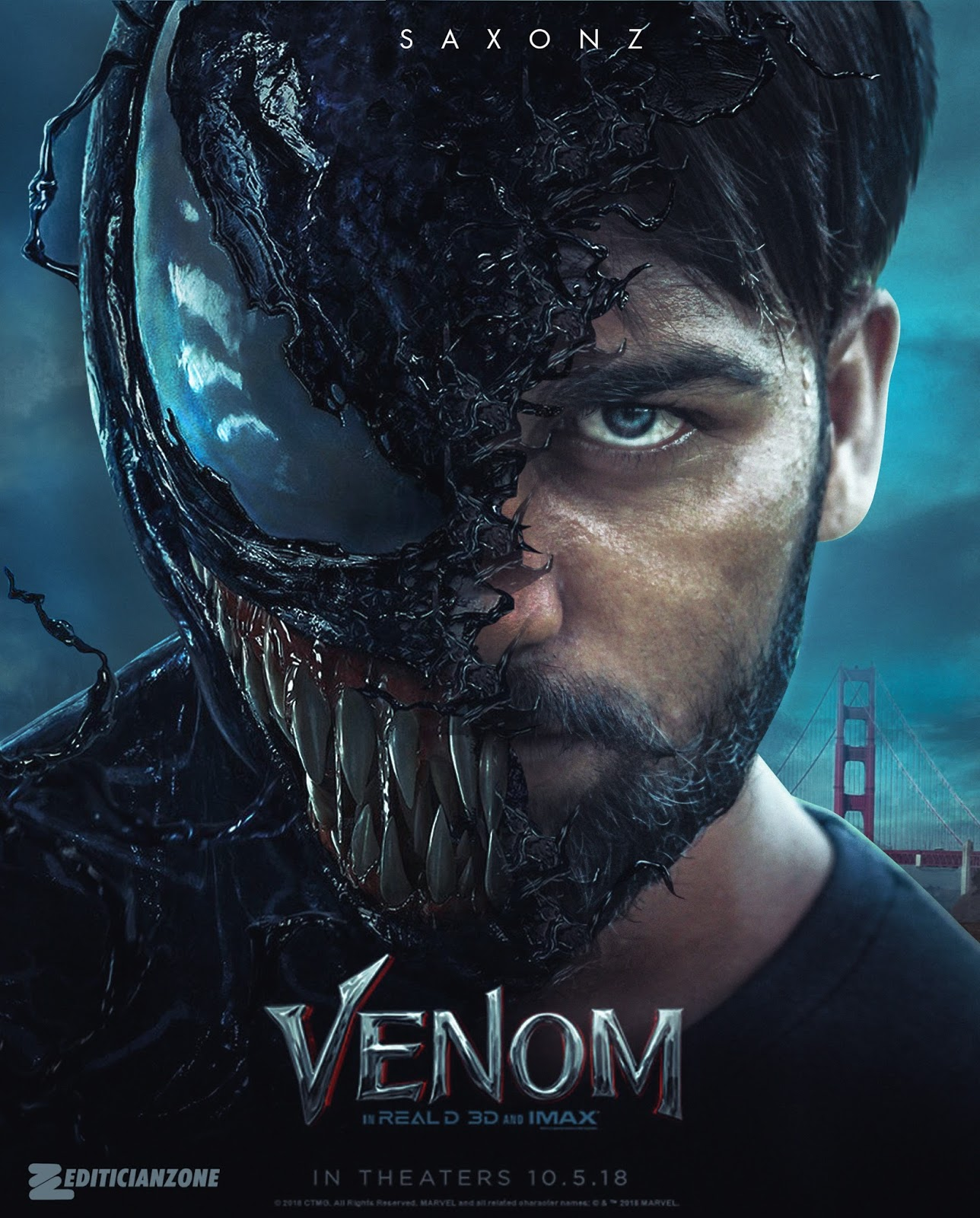 Venom Movie Poster Editing Tutorial