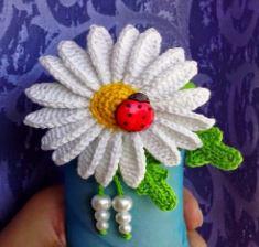 Flor para tejer