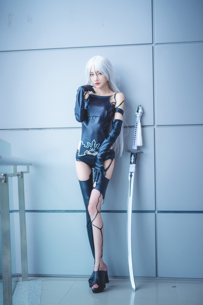 NieR Automata A2 Cosplay by 逆逆Ginni