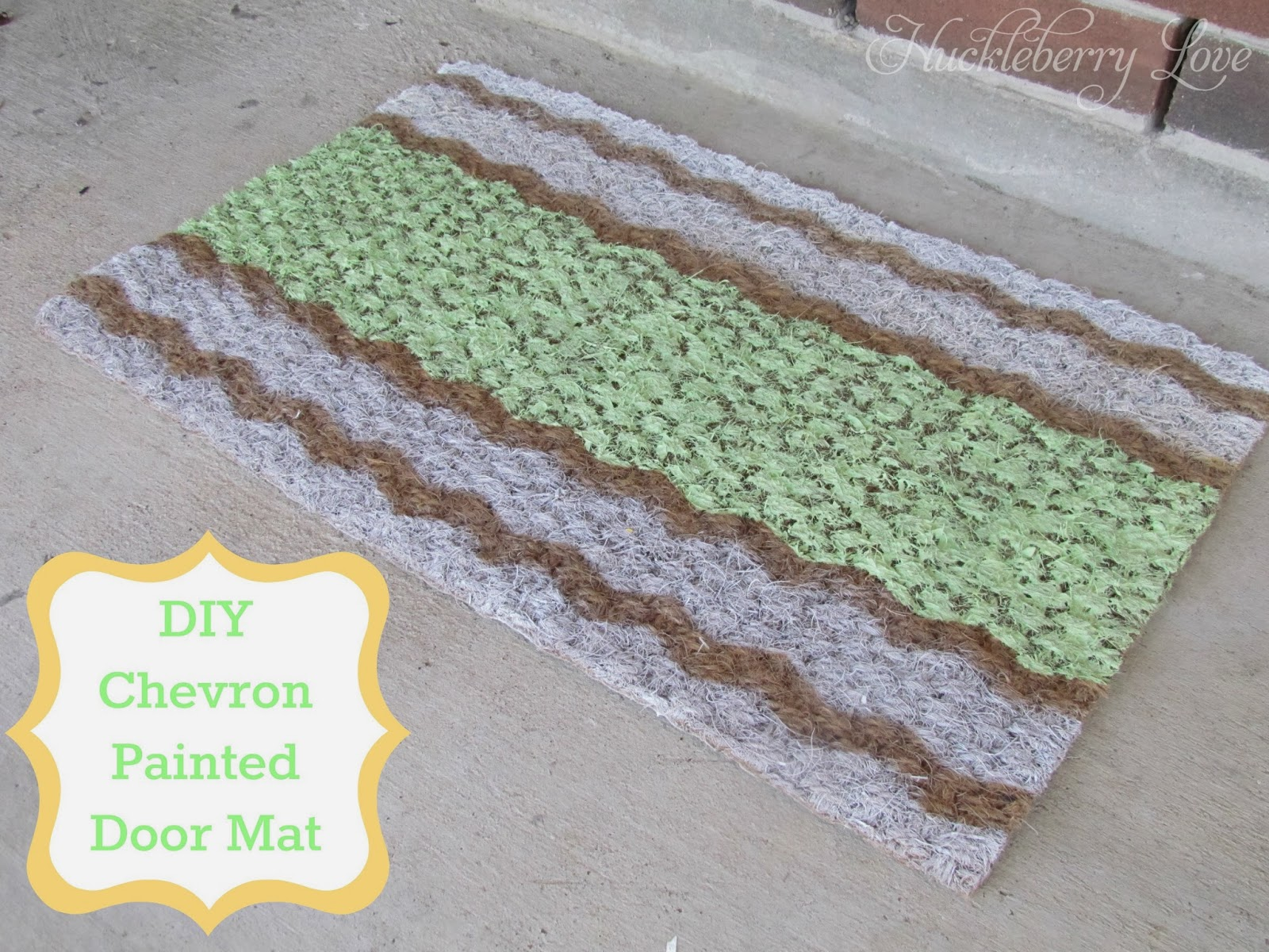 DIY-Chevron-Door-Mat