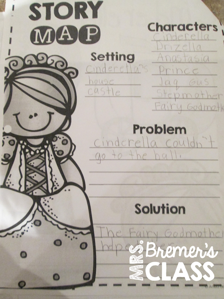Mrs bremers class fairy tales unit cinderella a complete fairy tales unit featuring activities for 6 student favorites including cinderella goldilocks and publicscrutiny Image collections