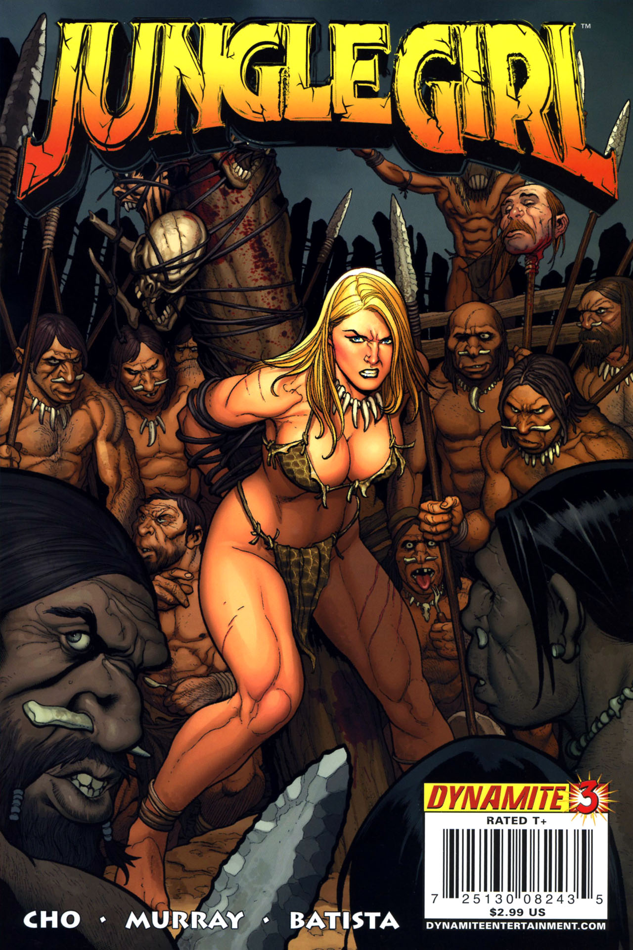 Read online Jungle Girl comic -  Issue #3 - 1