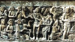 Relief Candi Borobudur 9