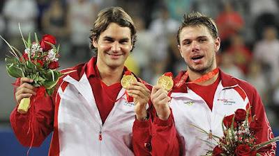 Roger Federer Gold Medal in Olympics